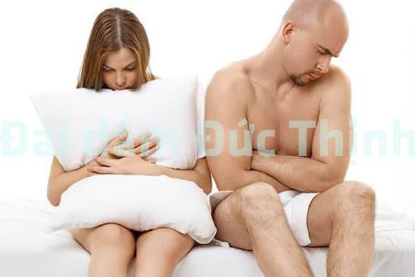 Tiểu buốt ra máu sẽ dẫn tới tình trạng giảm ham muốn tình dục, Tiểu buốt, Bệnh tiểu buốt, Tiểu buốt ra máu