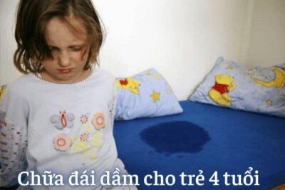 Cách chữa đái dầm cho trẻ 4 tuổi