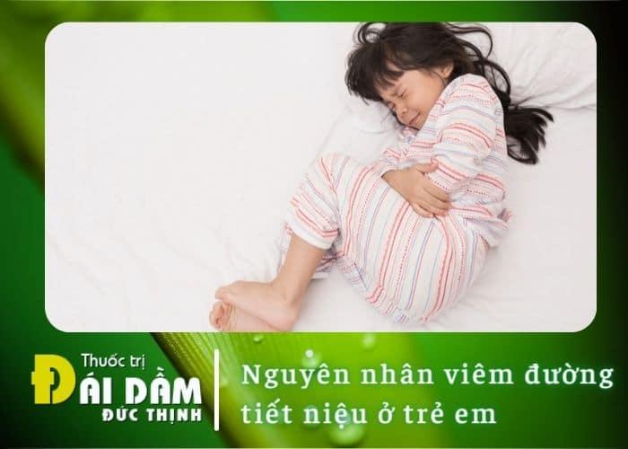 Nguyên nhân viêm đường tiết niệu ở trẻ em