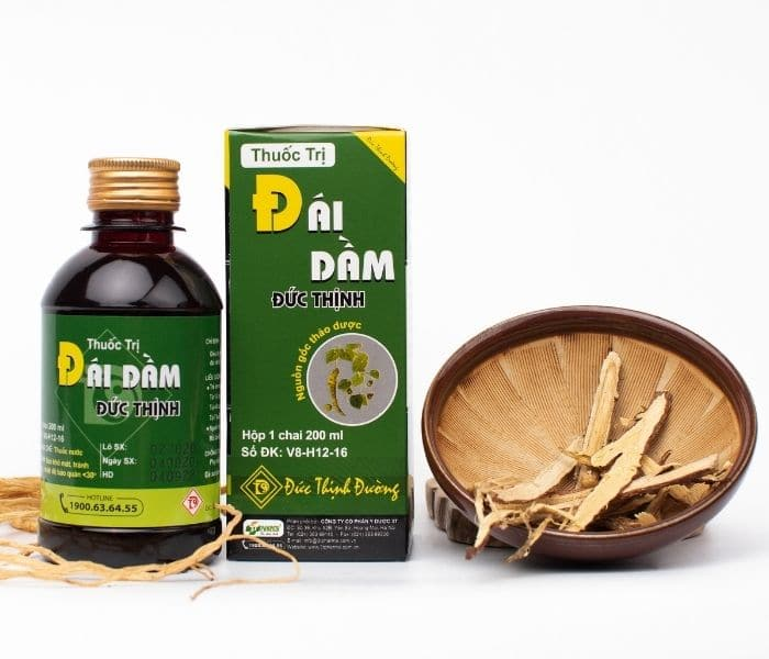 Thuốc trị Đái dầm Đức Thịnh nguồn gốc hoàn toàn từ thảo dược