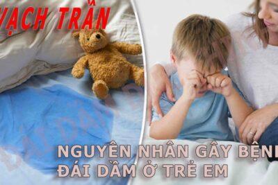 vạch trần nguyên nhân đái dầm ở trẻ em