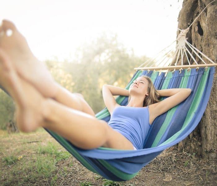 Luôn nghỉ ngơi tránh stress, tâm lý thoải mái