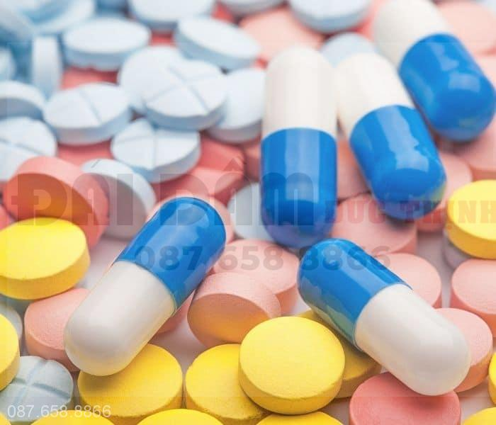 Một số loại thuốc tây được dùng để điều trị bệnh lý gây ra tiểu đêm