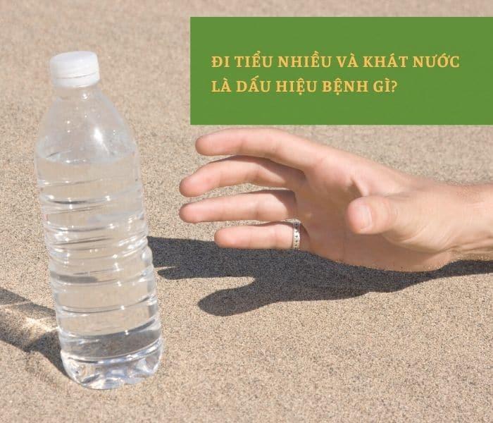 Đi tiểu nhiều và khát nước không phải là bệnh mà có thể là dấu hiệu của một số bệnh lý