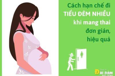 tiểu đêm nhiều khi mang thai
