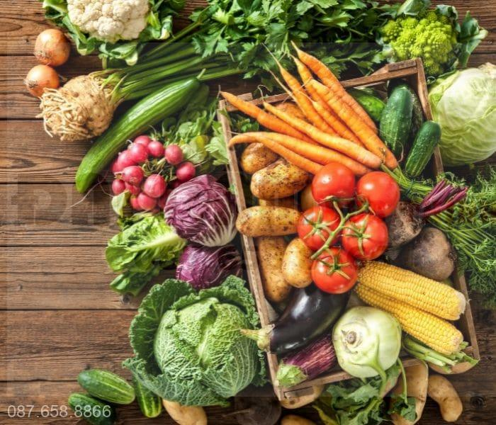 Bổ sung thực phẩm có tác dụng lợi tiểu, cải thiện tiểu nhỏ giọt như sắn dây, bí đao,...