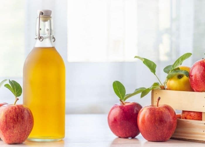 Cách ngâm giấm táo